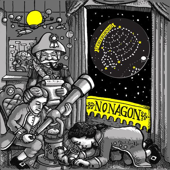 Nonagon - No Sun - CD