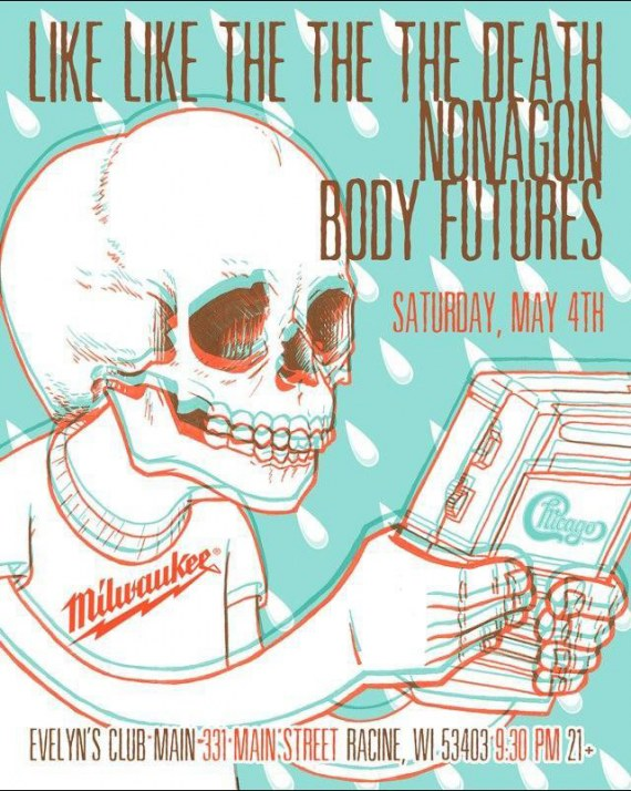 Like Like The The The Death and Body Futures Poster