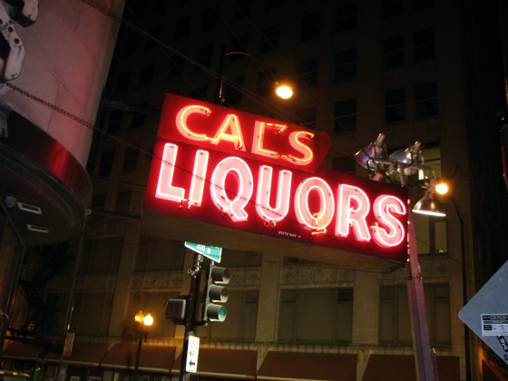 Cal's Sign