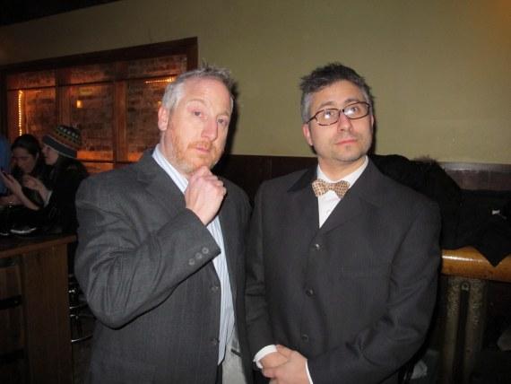 Tony and Robert