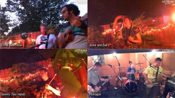 Mowpa and Mooha's rockin' bash! Ustreams!
