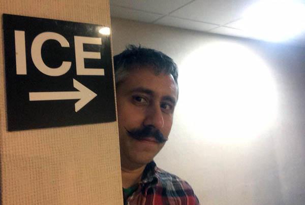 Greg Norton inspired mustache.